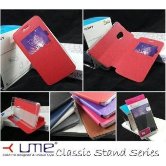 Ume Acer Liquid Z320 / Z330 Flip Shell / FlipCover / Leather Case / Sarung hp