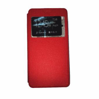 Ume Alcatel Flash 2 Ukuran 5.0 Inch View / Flip Cover / Flipshell / Leather Case