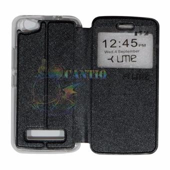 Ume Himax M2 View / Flip Cover / Flipshell / Leather Case / Sarung Handphone /