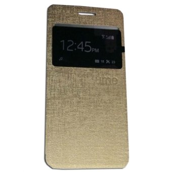 Ume Flipcase Flipshel For OPPO JOY Plus R1011 Flipcover - Gold