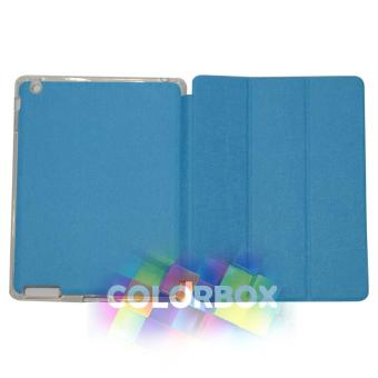 Ume Flipcover Apple Ipad 2 / Ipad 3 / Ipad 4 Flipshell Ipad4 / Leather Case Ipad2 / Sarung Ipad3 / Sarung Tablet - Biru Muda