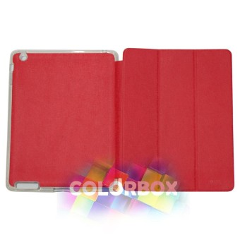 Ume Flipcover Apple Ipad 2 / Ipad 3 / Ipad 4 Flipshell Ipad4 / Leather Case Ipad2 / Sarung Ipad3 / Sarung Tablet - Merah
