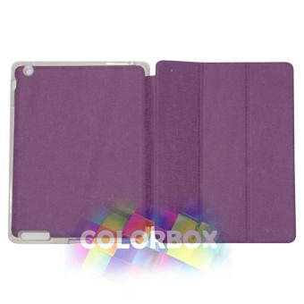 Ume Flipcover Apple Ipad 2 / Ipad 3 / Ipad 4 Flipshell Ipad4 / Leather Case Ipad2 / Sarung Ipad3 / Sarung Tablet - Ungu