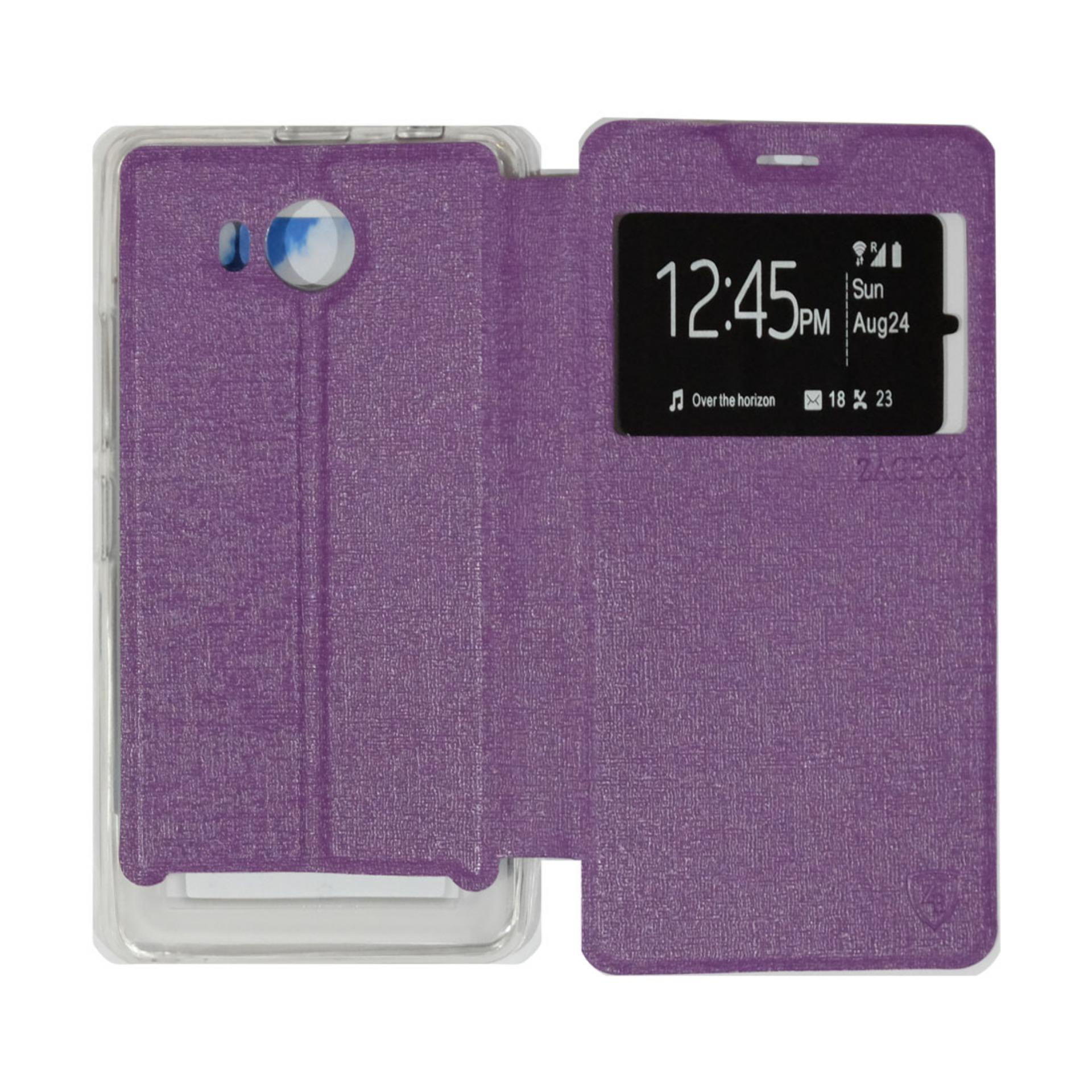 Pencari Harga Ume Lenovo A7700 View / Flip Cover / Flipshell / Leather Case / Sarung