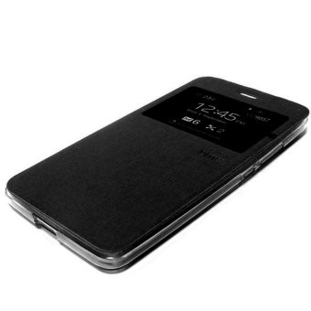 Ume Leather Case Sarung For Vivo V5 Flip Cover / Flipshell / Leather Case Sarung /