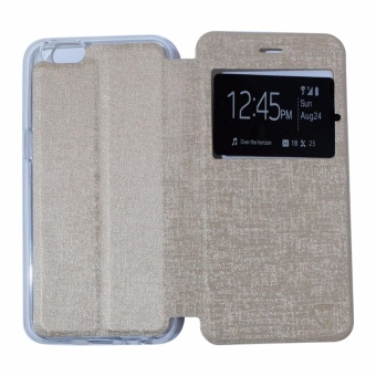 Ume Leather Cover Oppo Neo 7 A33 Leather Case Sarung / Flipshell / Flip Cover Kulit
