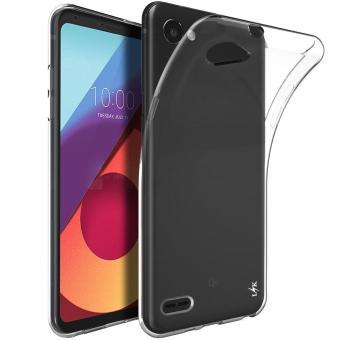 Ume TPU Soft Case Casing Cover for LG Q6 - Transparan