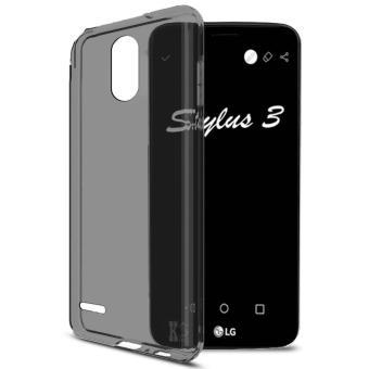 Ultra Tpu Thin Case For Oppo Find 7 Abu Abu Transparan Daftar Source · Ume TPU Soft Case Casing Cover for LG Stylus 3 Abu abu