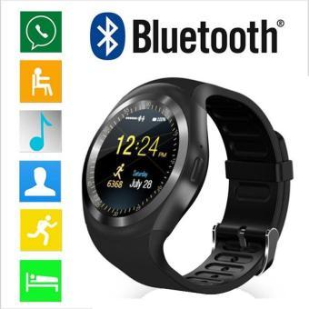 Cek Harga Baru 2018 Nice Smart Watch Y1 With Touch Screen Camera Tf