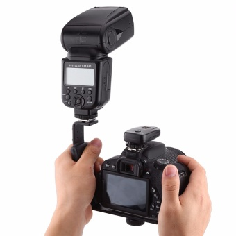 Universal Camera Grip L Bracket Photography Accessories Heavy DutyWith 2 Standard Side Hot Shoe Mount Flash Holder Camcorder - intl