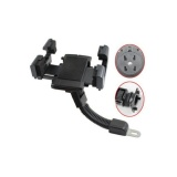 ... Universal Phone Holder Sepeda Motor Spion dudukan smartphone + FREE Waterproof - 3