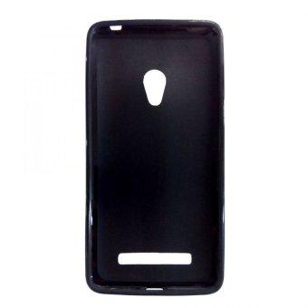 Universal Silikon Jelly Soft Case Asus Zenfone 5 - Hitam