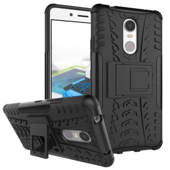 Untuk Lenovo K6 Note case, 3 in 1 Tirus Grain Tahan Guncangan ponsel housing dengan