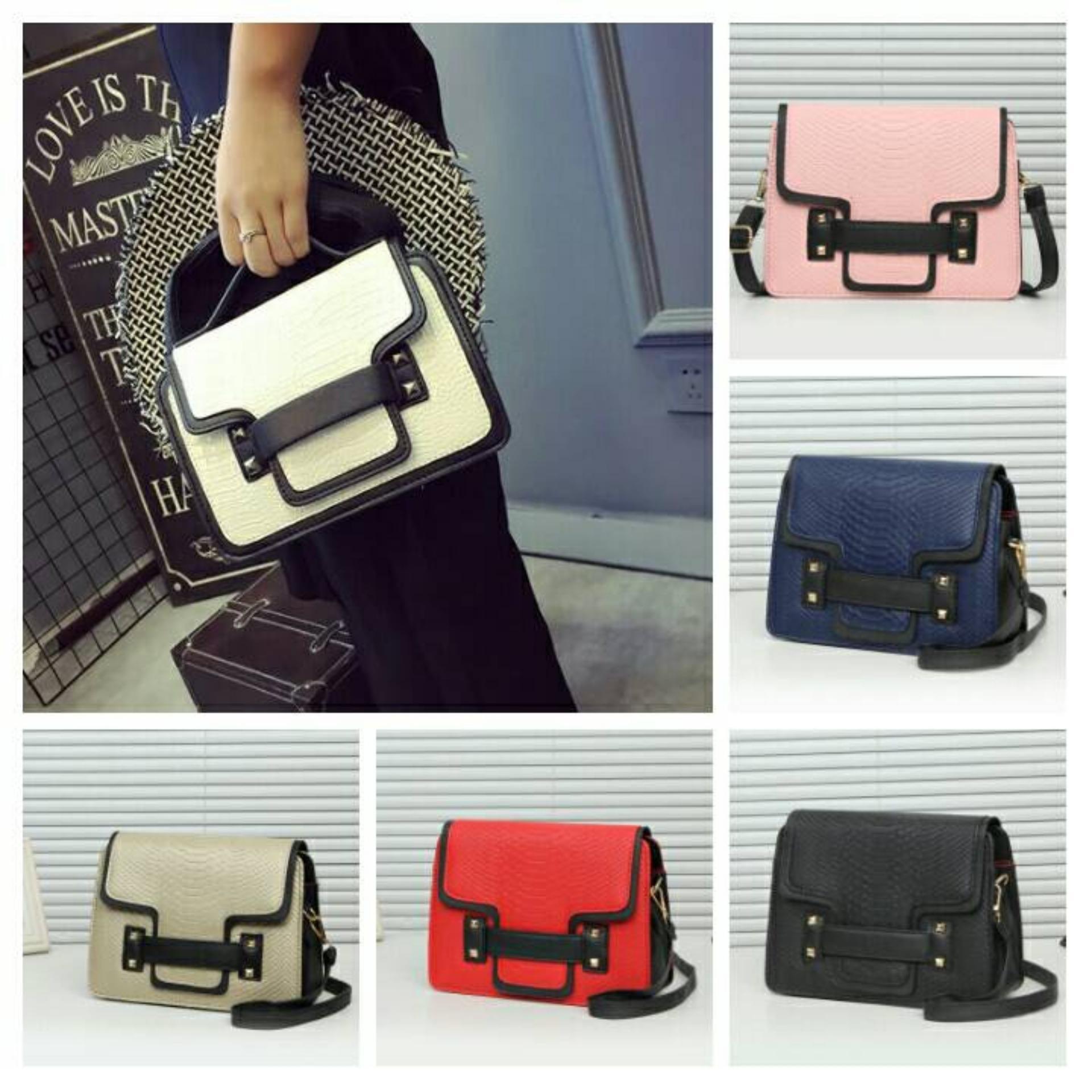 Urbantrendy - Korean Style / Best Seller Fashion bag Import / Handbag wanita C12075