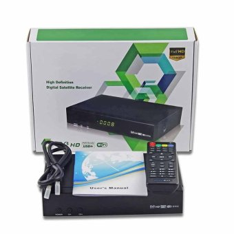 USB 1080 P Full HD DVB-S/S2 Dekoder Digital Freesat V7 Max Satelit