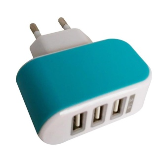 Usb Adaptor Charger 3 output Fast charging 3.1A