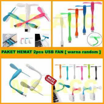 USB Portable Fan / Kipas Angin USB / Mini Fan USB / Kipas Mini [ Paket