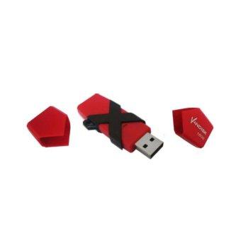 Vandisk V60N OTG Flashdisk 8GB - Merah/Hitam