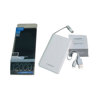 Veger Powerbank V50 12000mah Original - Putih