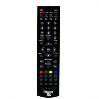 Venus Remote TV Receiver Parabola Original - Hitam