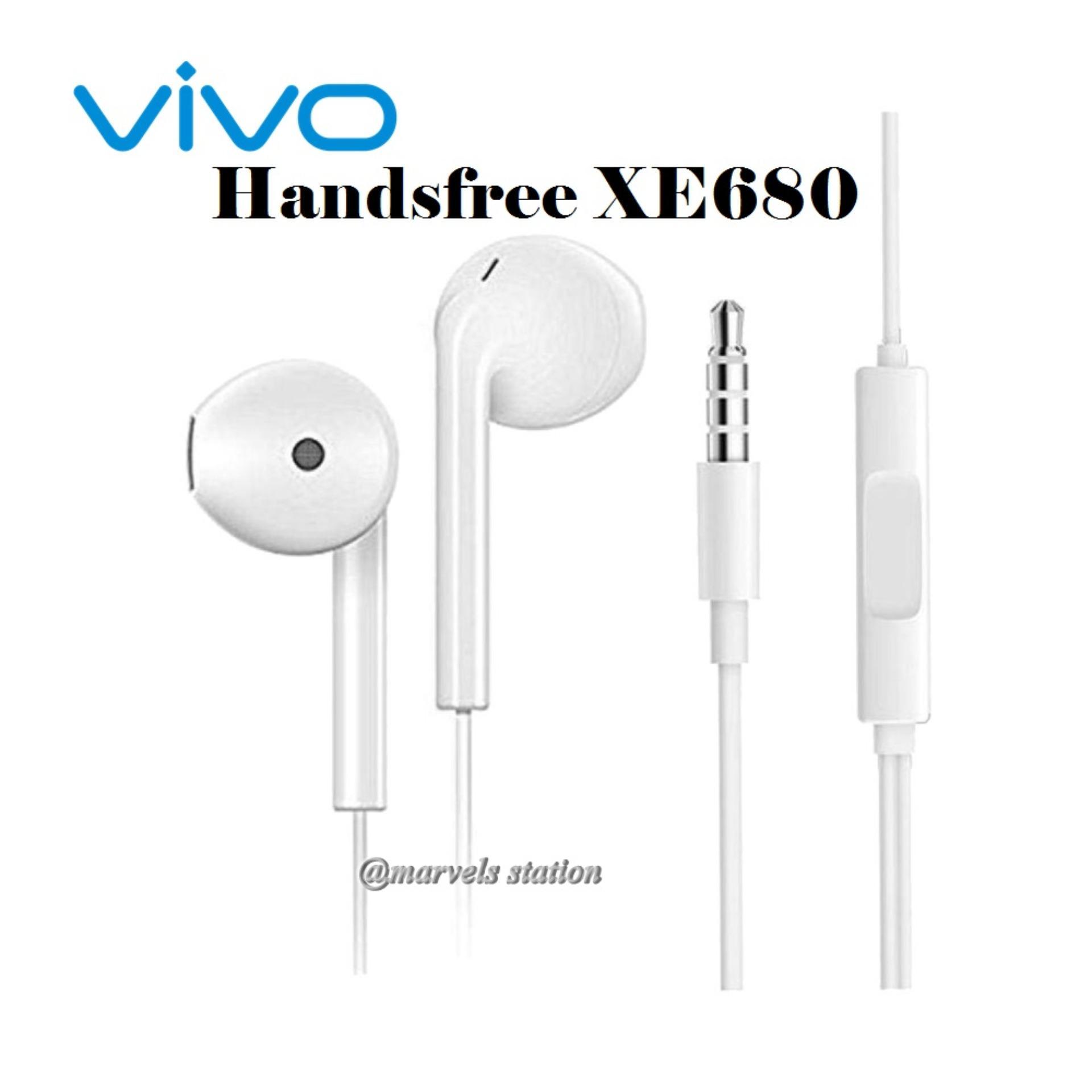Fitur Vivo Xe680 3 5mm Jack Headphone In Ear Handsfree Original Dan Headset Earphone Type Natural Hifi With Mic 35
