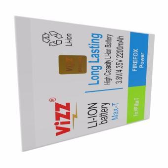 Vizz Baterai Batt Batre Battery Double Power Vizz Smartfren Andromax T