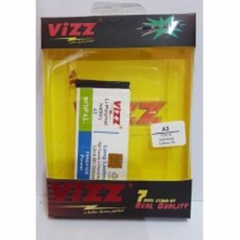 Vizz Batery Batt Batre Baterai Double Power Vizz Samsung A3