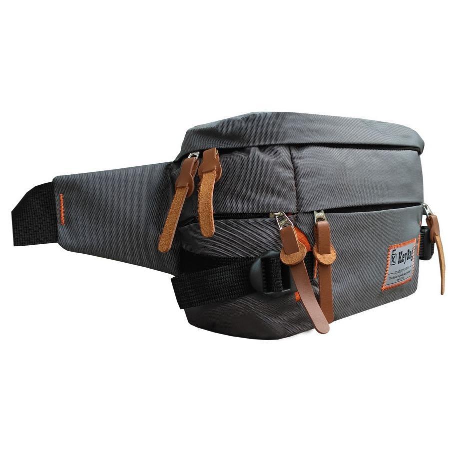 Cek Harga Baru Waist Bag Tas Selempang Pinggang Pria Dan Wanita Waisbag Atau Key Llc5655 Nylon