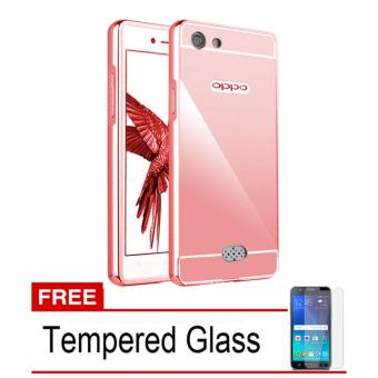 Wanky Anti Crack Shock Proof Silicone For Oppo Neo 7 / A33 + Free Tempered Glass