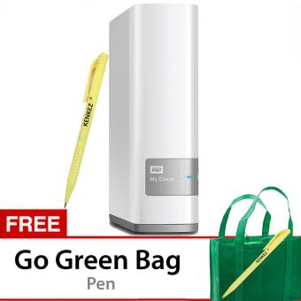 WD My Cloud 6TB Personal Cloud Storage - Putih + Gratis Go Green Bag + Pen