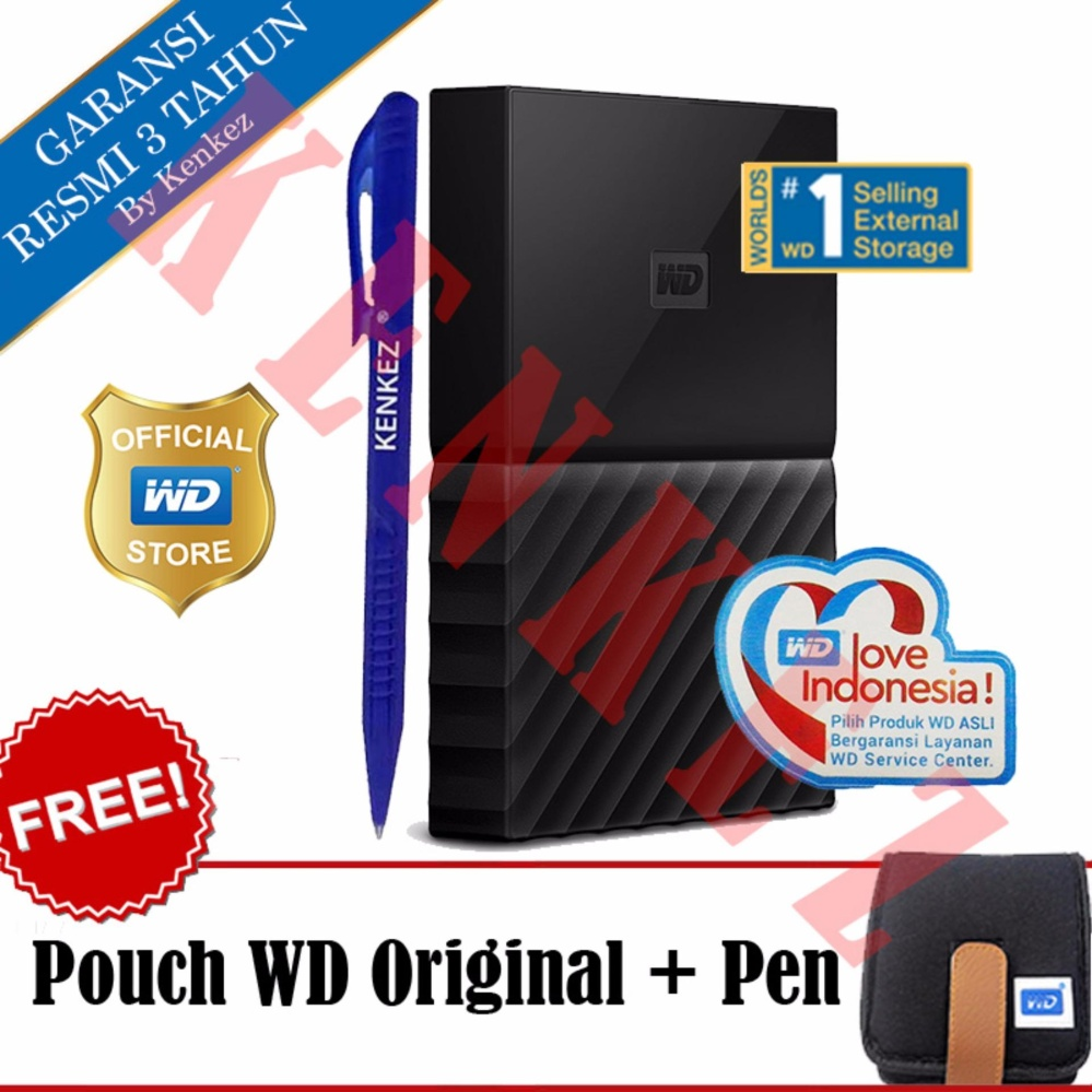 "Review of ""WD My Passport New Design 1TB Portable Storage USB 3.0 - Hitam Harddisk"