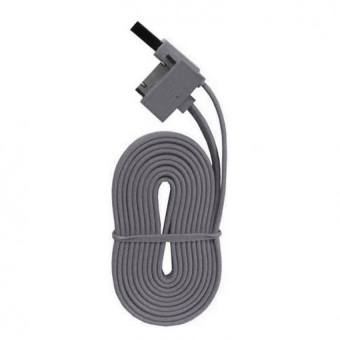 Wellcomm Kabel Data For Iphone 4/4s - Abu-abu