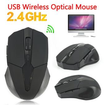 WH037 2.4GHz Wireless Optical Mouse Mice + USB Receiver for PC Laptop Mac Computer Lenovo