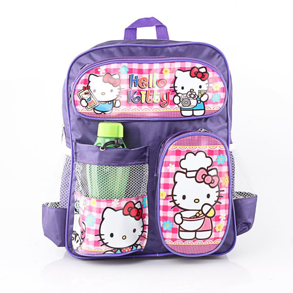Cek Harga Baru Hello Kitty Anak Perempuan Ringan Tas Ransel Camping Wolsfashion Cod Promo Sru 516 Murah