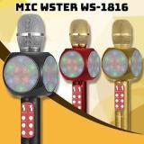 WSTER1816 MICKROPHONE WIRELESS BLUETOOTH SMULE KAROEKE WS1816 - 2