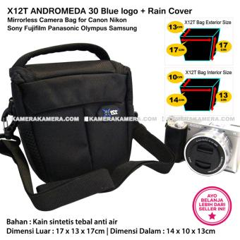 ... FOSOTO Canon EOS Rebel T2i T3i T4i T5 Nikon D3300 Sony Pentax. Source · X12T Andromeda 30 Blue Logo With Rain Cover Tas Kamera Mirrorless For Canon ...