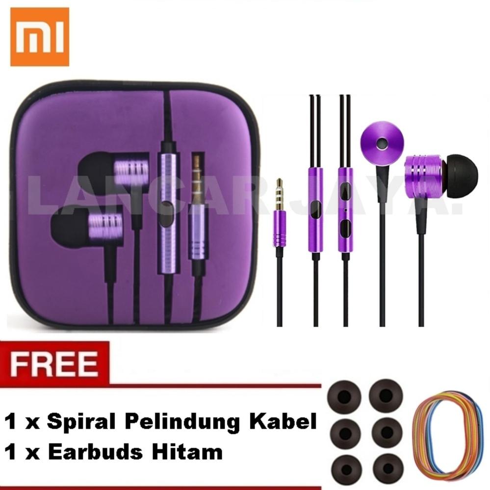 Review of Xiaomi Earphone Big Bass Piston Mi 2nd Generation Handsfree/ Headset Purple Ungu_ +