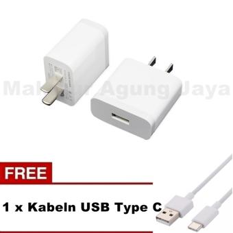 Xiaomi MDY-08-ES Original 2A Travel Charger Type C Kabel USB For Xiaomi