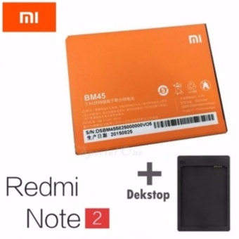 Xiaomi Original Battery BM-45 Baterai for Xiaomi Redmi Note 2 [3020 mAh]