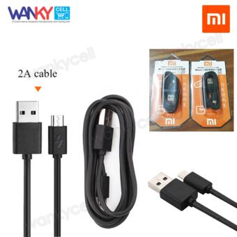 Xiaomi Original Micro USB Kabel Charger dan Data Sync Cable Charger 2A Kabel Data - Hitam