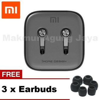 Xiaomi PISTON 3 Earphone Headset Handsfree / Headset Gen In Ear Stereo - Platinum Silver /