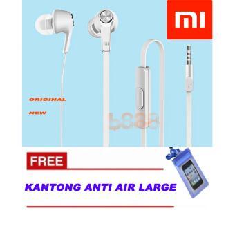 Xiaomi Piston Handsfree Xiaomi Original 100% Youth 3rd Generations Headset Xiaomi + Free Water Proff