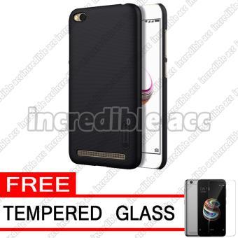 Xiaomi Redmi 5A (5 inch) Nillkin Frosted Shield Hardcase Elegant - Black + Free