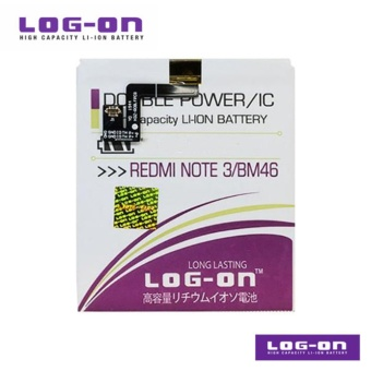 LOG ON Battery For Xiaomi Redmi Note 3 Pro BM46