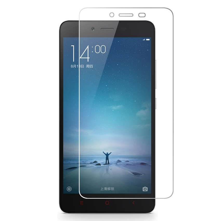 """Vn Xiaomi Xioami Xiomi Redmi Note 2 / Prime (5.5"""") """"Snapdragon/Mediatek/TAM/Resmi/Distributor"""" Tempered Glass 9H Screen Protector 0.32mm - Bening ..."