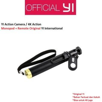 tongsis xiaomi yi action camera/monopod selfie stick + tomsis/bluetooth remote control –