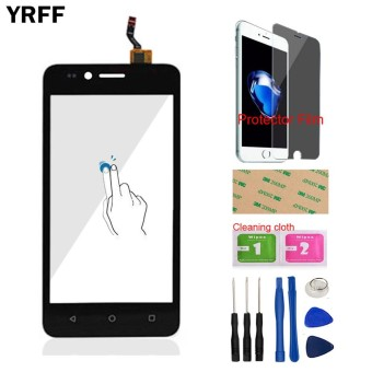 YRFF 3G Phone For Huawei 3G Y3 II LUA-L03 LUA-L21 LUA-L23 Front Touch Screen Touch Digitizer Panel Glass Lens Sensor Free Tools Protector Film Adhesive - intl
