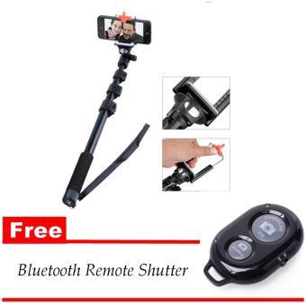 Yunteng YT188 tongkat selfi Free Bluetooth Remote Shutter