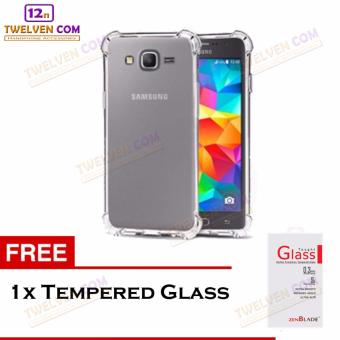 Zenblade Anti Shock Anti Crack Softcase Casing for Samsung Galaxy Note 4 - Free Tempered Glass