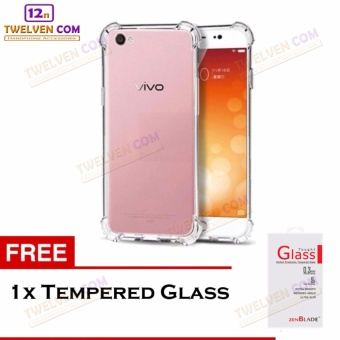 Zenblade Anti Shock Anti Crack Softcase Casing for Vivo Y51 - Free Tempered Glass